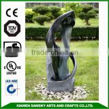 garden decoration lady design water fountain