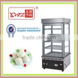 Chinese Bun Steamer Hot Showcase