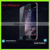 Premium Smart touch Tempered Glass Screen Protector for iOS 6 Toughened protective film For iOS 6 4.7inch