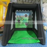 cheap inflatable football goal, soccer gate inflatable inflatable football toss throwing game