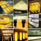 New Products Eco Faux Stone Backlit Translucent Sheet