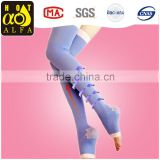 Top selling products in alibaba compression slimming Beauty Leg Sleeping high knee socks,