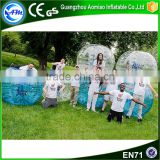 Factory price customized soccer bubble ball,inflatable ball person inside                                                                                                         Supplier's Choice