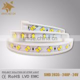 AC 110V/220V SMD 5730 45LM/LED IP68 with CE/RoHS/LVD flexible led strip light                                                                                                         Supplier's Choice