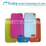 colorful soft silicon rubber skin case cover for apple ipod touch 5