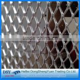 cheap decorative pvc coated expanded metal mesh for fence,easy expanded metal mesh for fencing