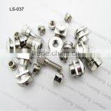 all kinds of Aluminum, Brass, Copper, Precious Metals, Stainless Steel screw turned parts
