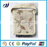 Fashion eco-friendly high jute hessian bag/ladies fashionable jute bags/foldable jute bag