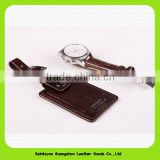 Popular Colorful Leather Luggage Tag in Manufacturer Price Standard Size Pvc Luggage Tag