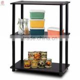 Wood Turn N Tube 3 Tier No Tools Storage Rack Display Shelf