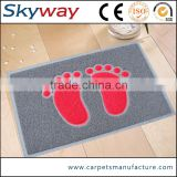 Supplier wholesale custom waterproof vinyl loop bath anti slip mat