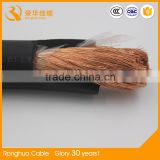 35mm2 50mm2 70mm2 95mm2 120mm2 185mm2 super flexible copper core electric power welding cable price