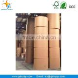 Paper Mills Kraft Paper Roll Brown Color for Wholesale