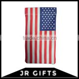 Best Quality Stars and Stripes Canvas eyeglass case