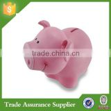 Wholesale Cheap Resin Pink Pig Shaped Piggy Banks
