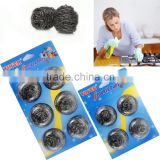 kitchen cleaning blister card stainless steel scourer
