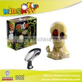 Wholesale halloween skull shooting target toy gun