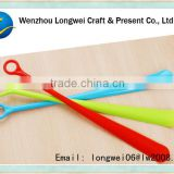 logo custom long plastic shoehorn/telescopic shoe horn