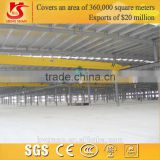 single beam carrier beam overhead crane