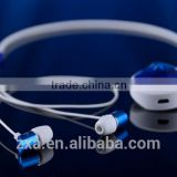 China factory 3.5mm audio jack Bluetooth headset, cheap necklace Bluetooth stereo headset.