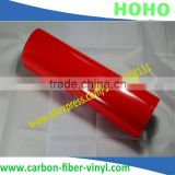 Car glossy rose red decoration vinyl sticker , bubble free car self adhesive vinyl wrap film 1.52*30m air bubble free 3Mil