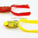 Wholesale Water Surface Silica Gel Frog Soft Fishing Lure