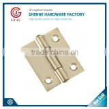 Australia and America Small stainless steel Narrow Butt Hinge with Fixed Pin for cabinet or window