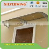 Garden decoration Plastic polycarbonate pvc prefab awning for window