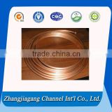 Coiled copper hollow conductors for induction heaters from alibaba china