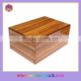 Wholesale large cigar case & wooden cigar box