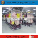 Economic double-sided Supermarket bakery display cases equipment supermarket shelf
