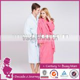 wholesale custom lined coral fleece bathrobe polyester couple bathrobe                                                                         Quality Choice
