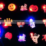 Alibaba hot sell Christmas Party Favor Supply LED Light Up Christmas Party Favor Gift Badges