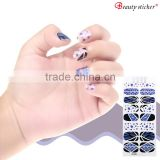 Japan and Korea Symphony Irregular Broken Glass Mirror Foil Nail Sticker                                                                         Quality Choice