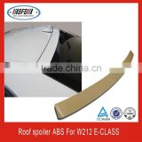 ABS PLASTIC REAR ROOF SPOILER FOR Mercedes Benz E-Class W212 4D Sedan Rear Roof Spoiler E350 E550