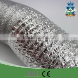 High quality pipe company hydroponic systems greenhouse ventilation aluminium foil duct