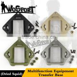 WoSporT multifunction equipment transfer base accessories for fast helmet fast army security helmet wargame fast helmet PJ type