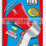 children interesting loudspeaker fireman toy