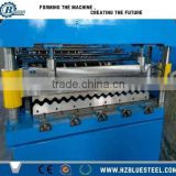 Metal Steel Roof Sheet Roll Forming Machine / Color Coated Corrugated Metal Roof Panel Forming Making Mchine