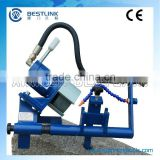 pneumatic integral drill steel grinder and chisel bits grinder CG100P
