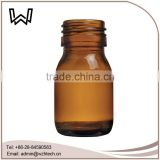 30ml amber cough syrup glass bottle
