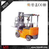 3ton Electric DC Motor Narrow Aisle Forklift Truck with 3m Lifting Height for Workshop