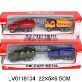2014 die-cast engineering car best selling children toy cars