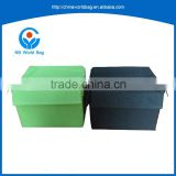 Accepting full inspection Wholesale eco-friendly and durable polyester foldable storage cardboard boxes