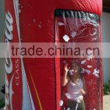 inflatable coke money booth for advertising
