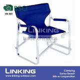 folding aluminum deck cavans chair