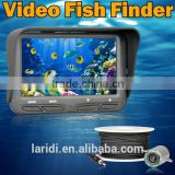 2016 New product 4.3 inch LCD monitor lucky video fishing X3 fish finder with 20W pix camera