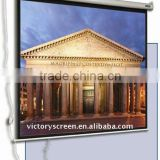 180*180 electric screen with sychronous motor & RF remote control