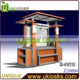 omega watch display kiosk/showcase/stand,watch glass display cabinet