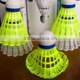natural foam cork badminton nylon shuttlecock
